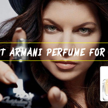 5 Best Armani Perfume for Women